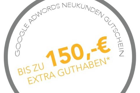 Google AdWords Gutschein 150€ Logo